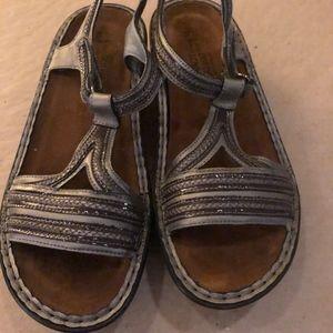 NAOT sandals..Size 38